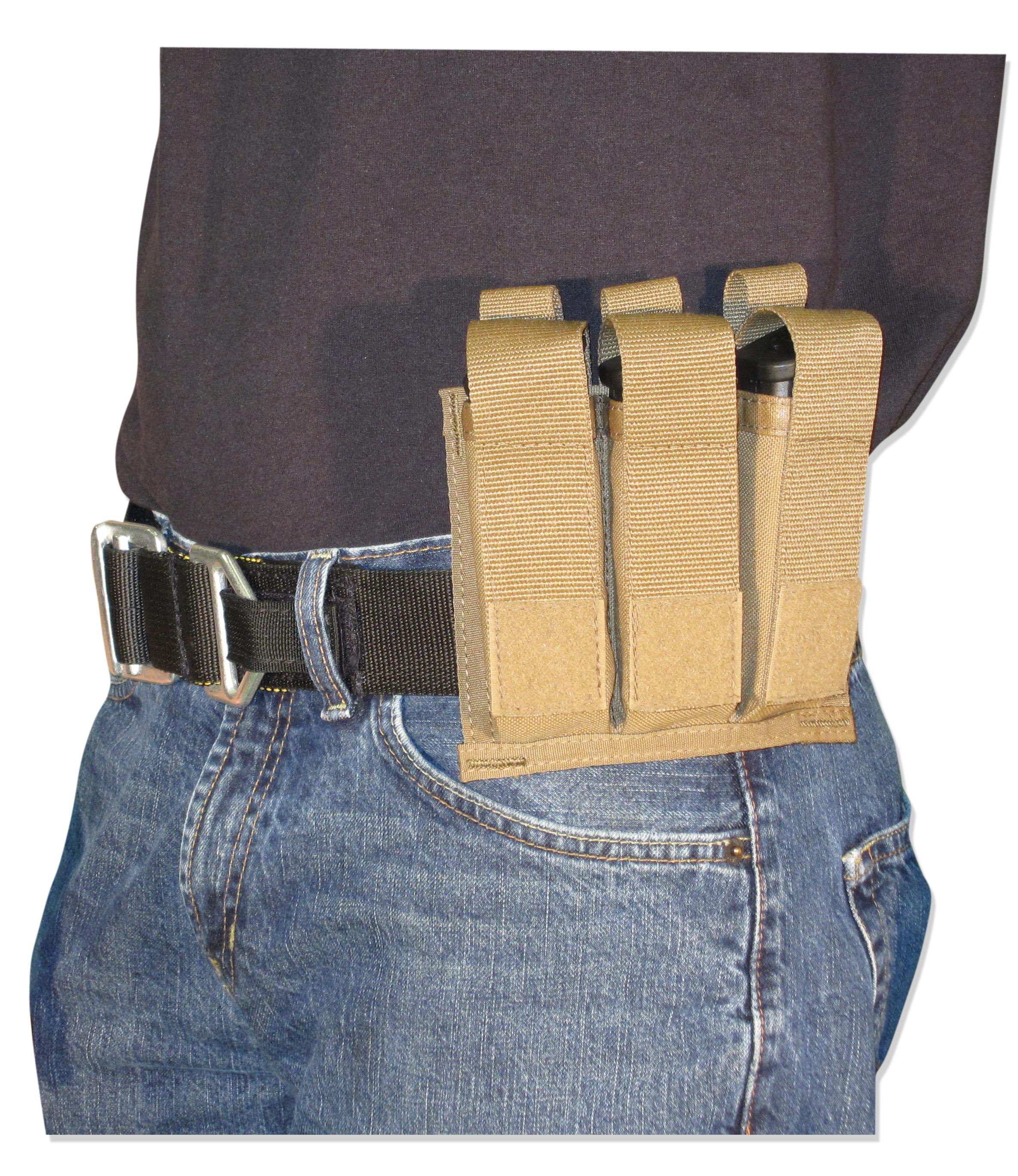 Triple Pistol Mag Pouch