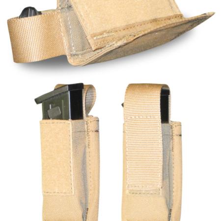 Single Horizontal Pistol Mag Pouch