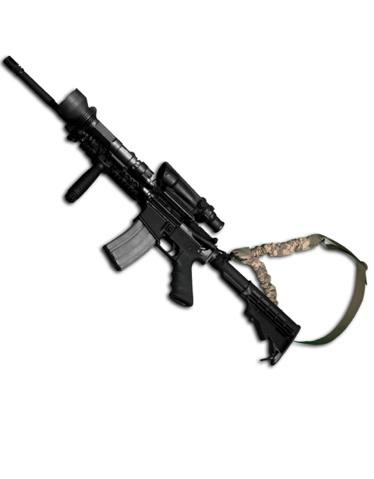 SINGLE POINT WEAPON SLING (M4, M16, MP5)