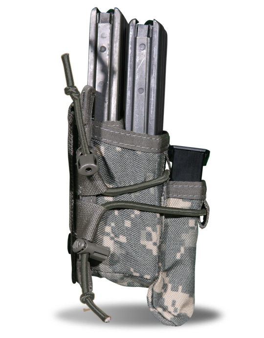 M4 DOUBLE MAG POUCH WITH PISTOL MAG
