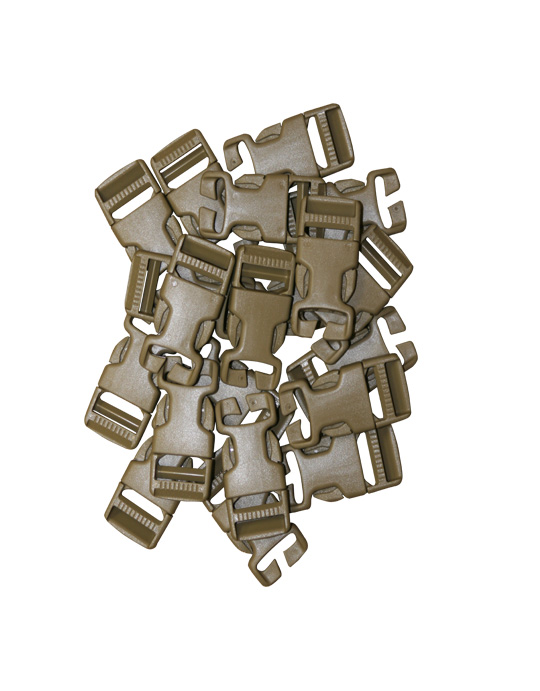 "1"" Field Expedient SR Clips, 20 Pieces"