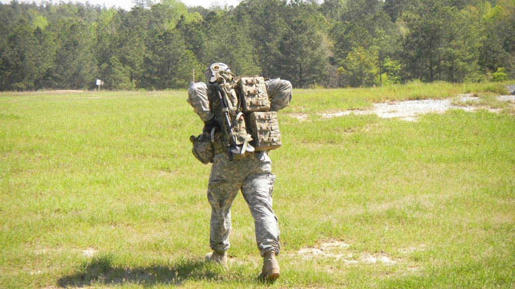 BULLDOG ASSISTANT GUNNER'S PACK - 1000 RD CAPACITY (2) 500 RD POUCHES!!!!!