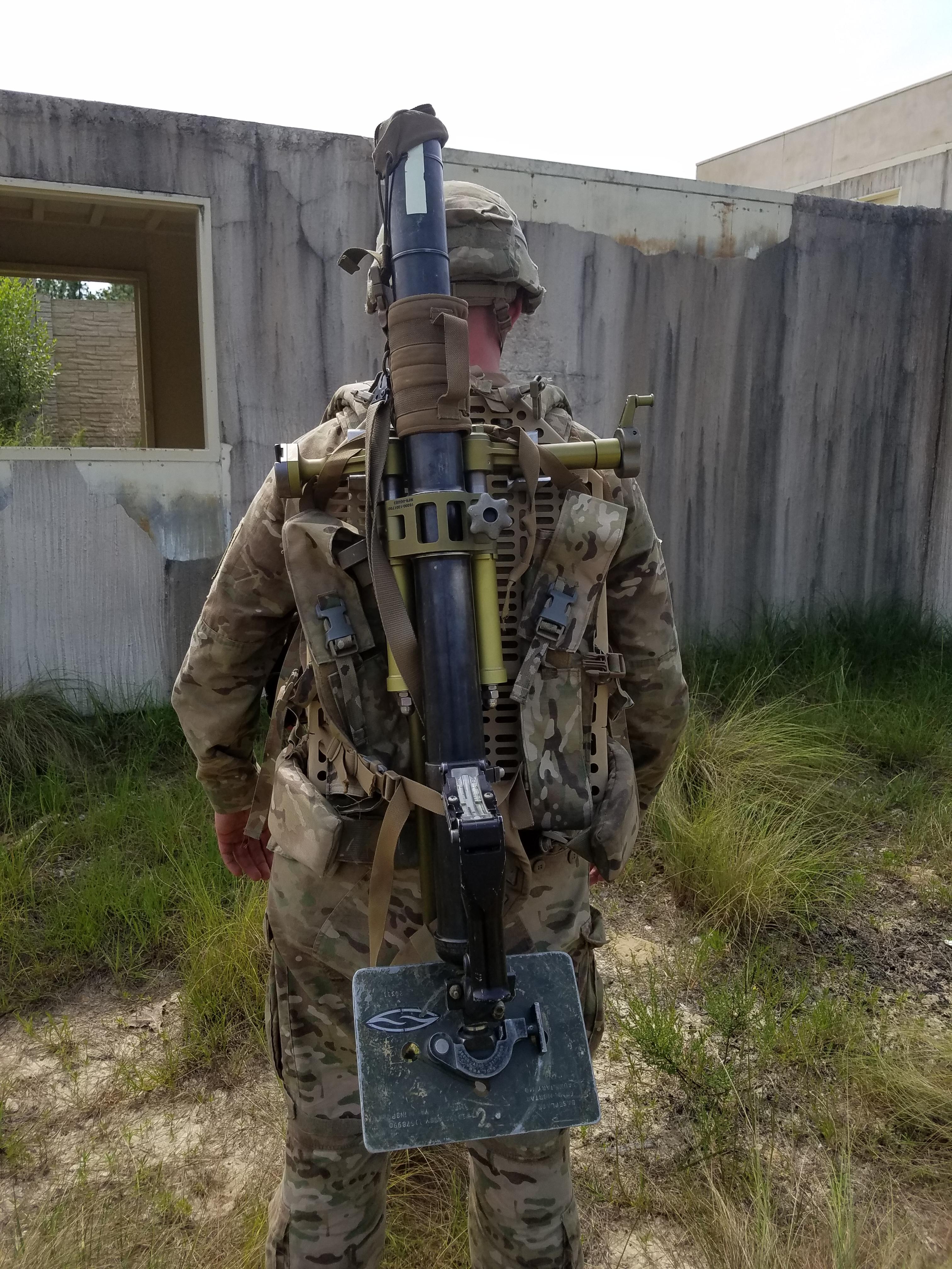 bulldog 60mm mortar kit nato nsn  8465