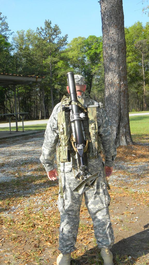 Bulldog 60mm Mortar Kit Nato Nsn 8465 99 187 0392